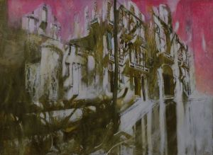 Painting, Academism - Walking in Venice