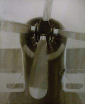 Painting, Academism - Aircraft