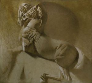 Painting, Academism - Horse