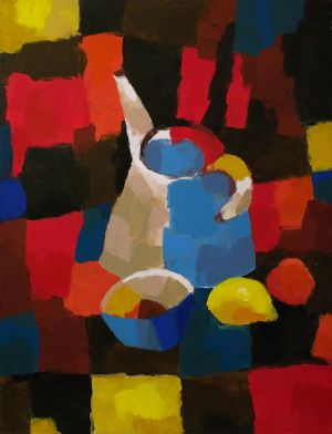 Painting, Abstractionism - Kettle