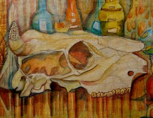 Painting, Still life - Vzglyad-so-storony