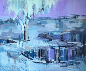 Painting, Expressionism -  Cold edge