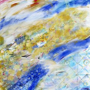Painting, Abstractionism - City