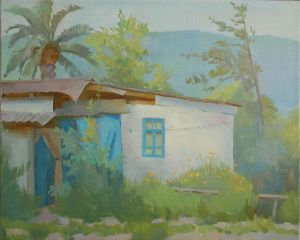 Painting, Landscape - House by the Black Sea
