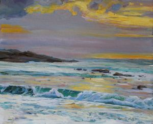Painting, Seascape - serenity