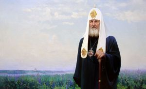 Painting, Portrait -  Portrait of His Holiness Patriarch of Moscow and All Russia Kirill