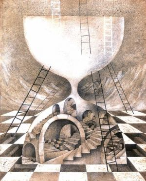 Graphics, Surrealism - Labyrinths of Time