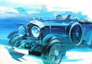 Painting, Expressionism - Bentley Blower