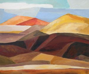 Painting, Modern - Dunes