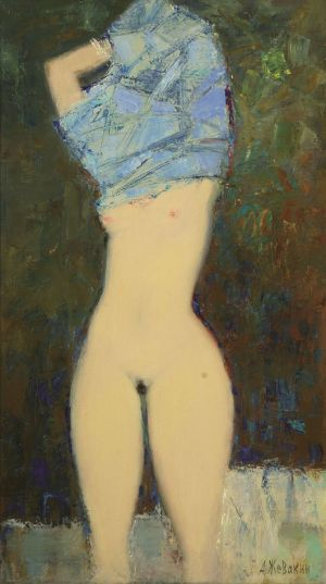 Painting, Nude (nudity) - Evening