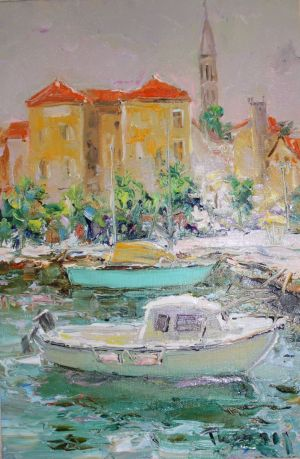Painting, Impressionism - «Croatian etude» No1