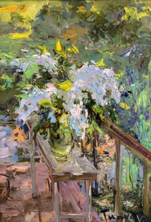 Painting, Impressionism - Spring...Flowers