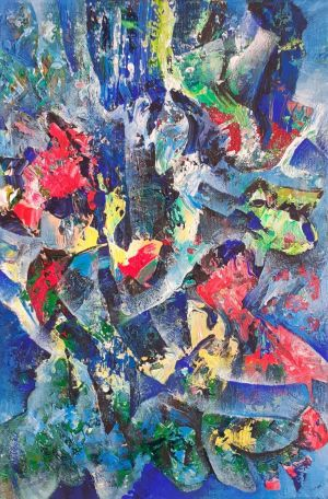 Painting, Abstractionism - 20200121