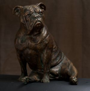 Sculpture, Animalistics - Bulldog