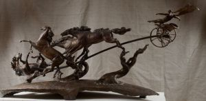 Sculpture, Mythological genre - The fall of the Phaeton