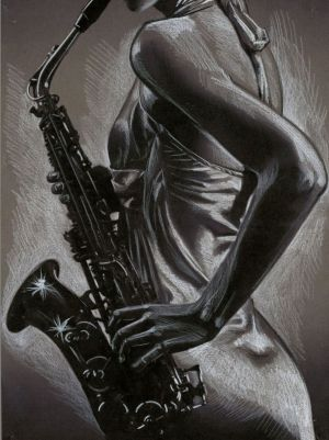 Graphics, Plot-themed genre - SAX-WOMAN 2
