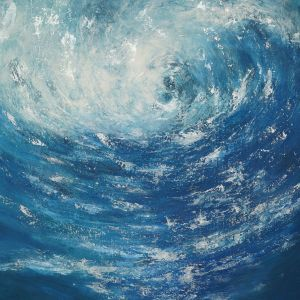 Painting, Abstractionism - The Deepness 2