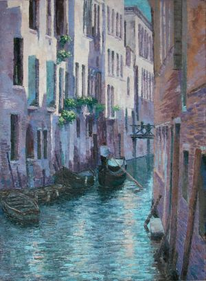 Painting, Oil - LA MIA VENEZIA