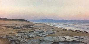 Painting, Seascape - CYPRUS, TURTLE BEACH