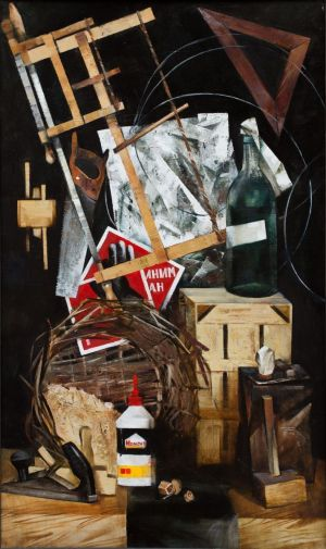 Painting, Still life - Carpentry still life