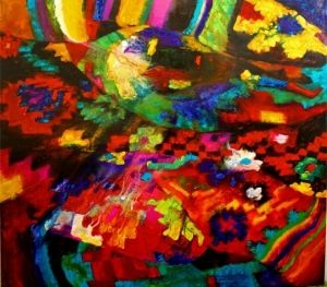 Painting, Abstractionism - Vereta-2