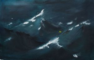 Painting, Seascape - DEEP