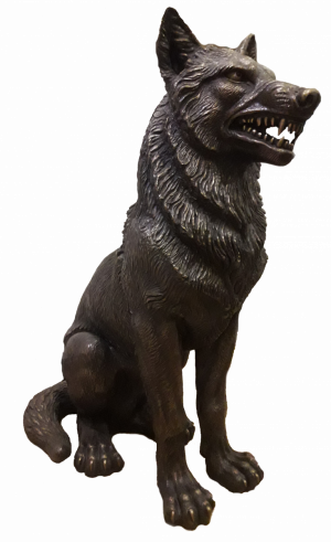 Sculpture, Animalistics - Wolf
