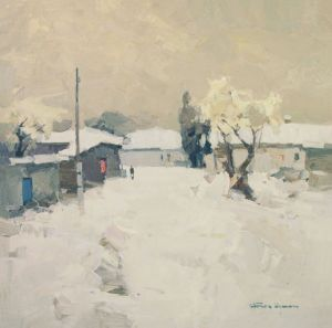 Painting, Impressionism - Thaw