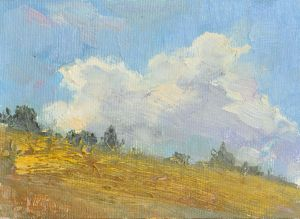 Painting, Landscape - Cloud