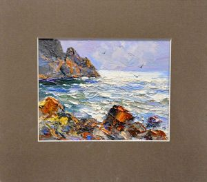 Painting, Seascape - Rough sea