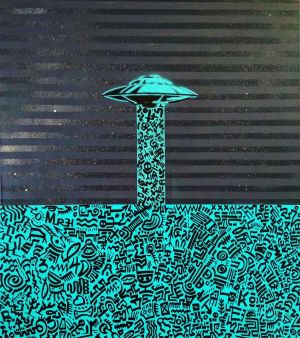 Graphics, Abstractionism - UFO