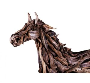Sculpture, Easel - sculpture of a horse