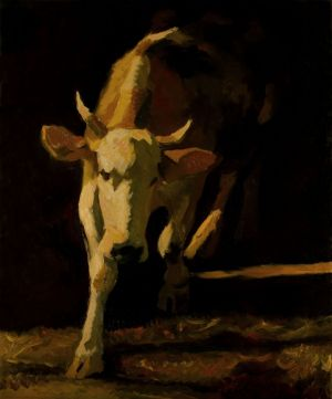 Painting, Animalistics - Cow