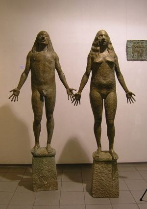 Sculpture, Monumental - Adam and Eve