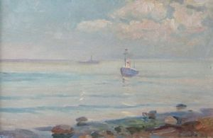 Painting, Seascape - More-Feodossiya