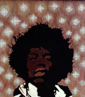 Graphics, Modern - Legend - Jimi Hendrix