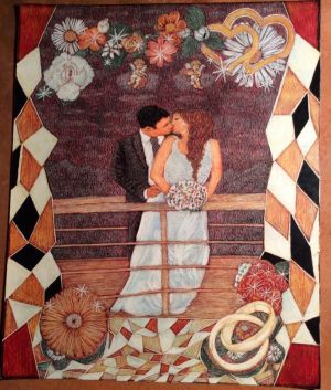 Graphics, Romanticism - Newlyweds