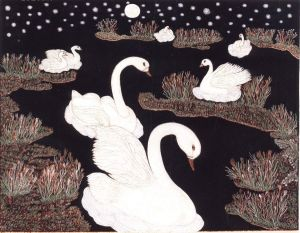 Graphics, Realism - Swans-2