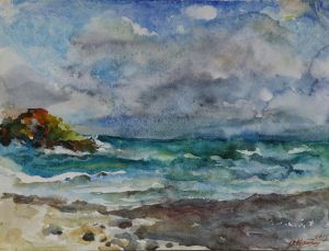 Graphics, Seascape - Utrenniy-veterok